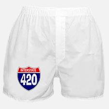 Interstate 420 Boxer Shorts
