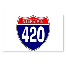 Interstate 420 Decal
