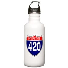 Interstate 420 Sports Water Bottle