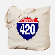 Interstate 420 Tote Bag