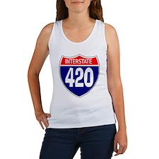 Interstate 420 Women's Tank Top