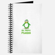 St. Patty Plucks Journal