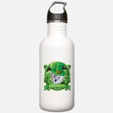 Happy St. Patrick's Day Schnoodle Water Bottle
