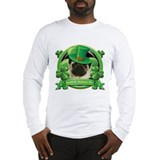 St patricks day pug Long Sleeve T-shirts