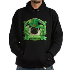 Happy St. Patrick's Day Pug Hoodie