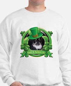 Happy St. Patrick's Day Pekingnese Sweatshirt