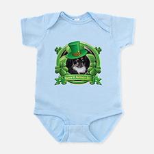 Happy St. Patrick's Day Pekingnese Infant Bodysuit