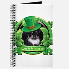 Happy St. Patrick's Day Pekingnese Journal