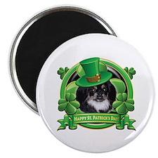 Happy St. Patrick's Day Pekingnese Magnet