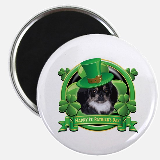 Happy St. Patrick's Day Pekingnese Magnet