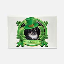 Happy St. Patrick's Day Pekingnese Rectangle Magne