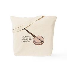 Banjo Design Tote Bag