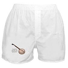 Banjo Design Boxer Shorts