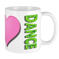 Peace Love Dance Mug