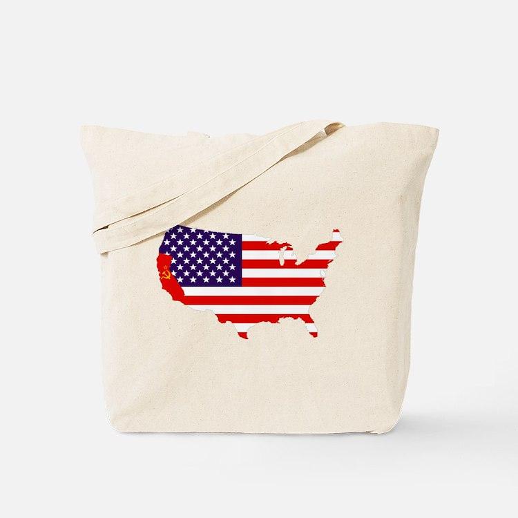 Communist California Tote Bag