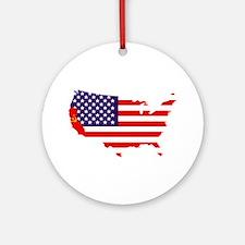 Communist California Ornament (Round)