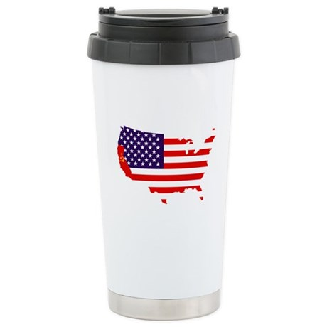 Communist California Stainless Steel Travel Mug