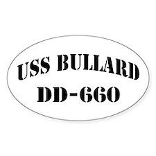 USS BULLARD Decal