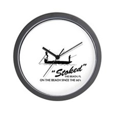 Stoke Fishing Charters Wall Clock