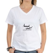 Stoke Fishing Charters Women's V-Neck T-Shirt