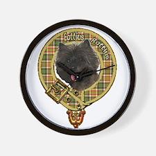 Cairn Terrier Crest Wall Clock