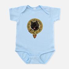 Cairn Terrier Crest Infant Bodysuit