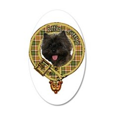 Cairn Terrier Crest Wall Decal