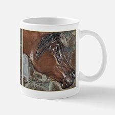 Bronze Arabian Sculpture Mug