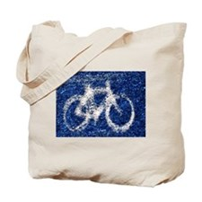 Bicycling Tote Bag