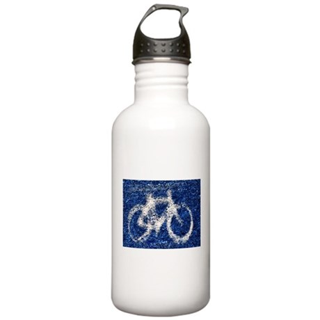 Bicycling Stainless Water Bottle 1.0L