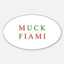 Muck Fiami Oval Decal