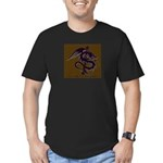 Ye Olde Itchy & Scratchy Drag Men's Fitted T-Shirt