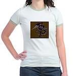 Ye Olde Itchy & Scratchy Drag Jr. Ringer T-Shirt
