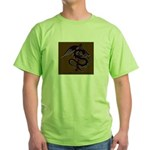 Ye Olde Itchy & Scratchy Drag Green T-Shirt
