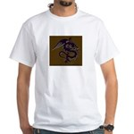 Ye Olde Itchy & Scratchy Drag White T-Shirt