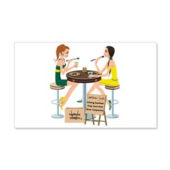 Packers Sushi Girls 22x14 Wall Peel