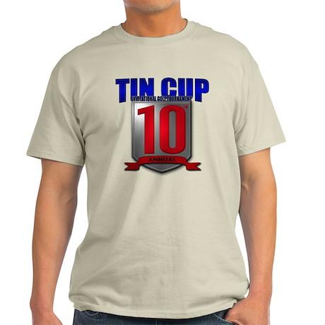 2011 Tin Cup Light T-Shirt