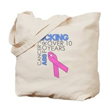 KickingCancer1Year Tote Bag
