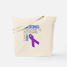 KickingCancerFor1Year Tote Bag