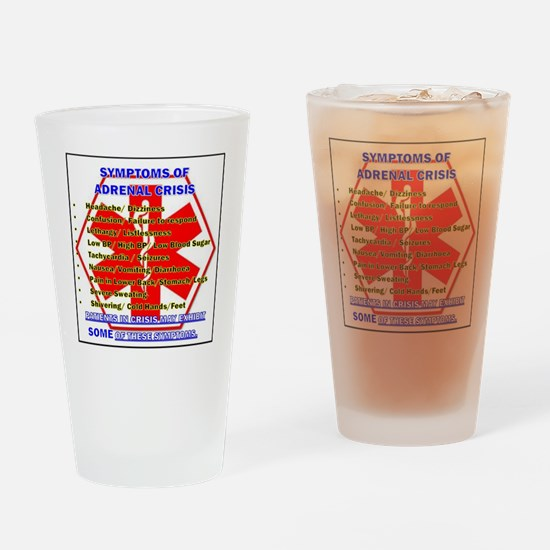 Unique Awareness medical Drinking Glass