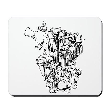 BSA Goldstar Mousepad