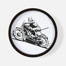 Vintage Motorcycle Wall Clock