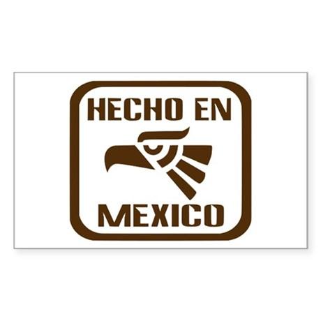Hecho En Mexico Sticker (Rectangle)