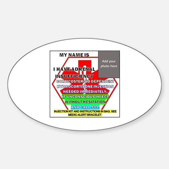 Addisons disease Sticker (Oval)