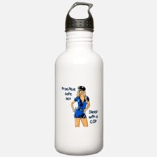 Practice safe sex! Water Bottle