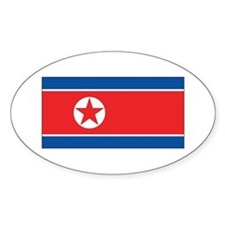 North Korea Flag Decal