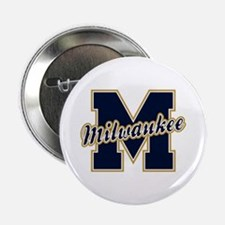 "Milwaukee Letter 2.25"" Button"