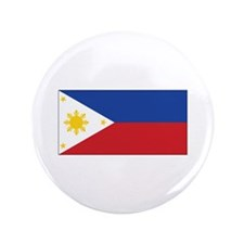 "Philippines Flag 3.5"" Button"