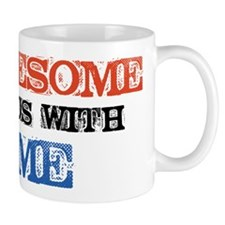 Awesome ends with Me Mug