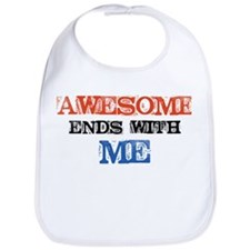 Awesome end with Me Bib